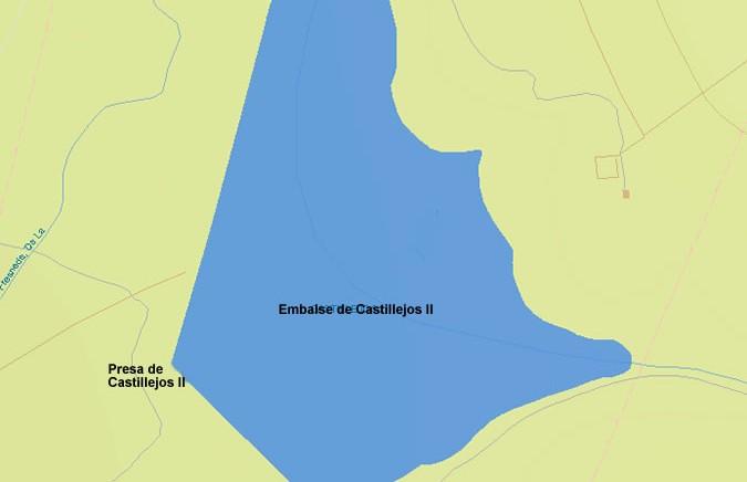 Presa del Embalse de Castillejos II - Dam - Reservoir