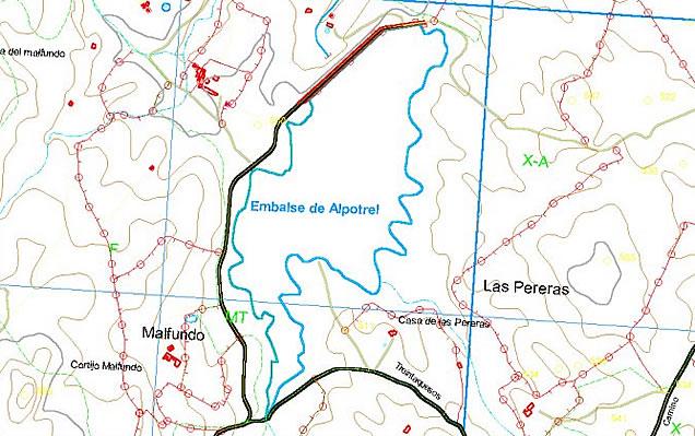 Presa de Alpotrel - Embalse de Alpotrel - Pantano de Alpotrel