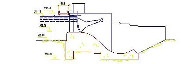 Presa de Árrago - Embalse de Borbolló - Derivación