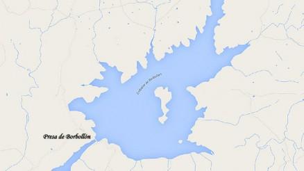 Presa de Borbollón - Embalse de Borbollón - Pantano de Borbollón - Borbollon Dam & Reservoir