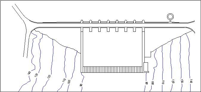Embalse de Cijara - Presa de Cijara - Pantano de Cijara - Presa del Embalse de Cijara - Cuenca del Guadiana