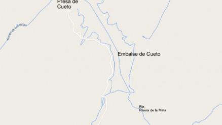 Presa del Embalse de Cueto - Dam and Reservoir