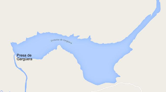 Presa del Embalse de Gargüera - Gargüera Dam and Reservoir - Tejeda de Tietar