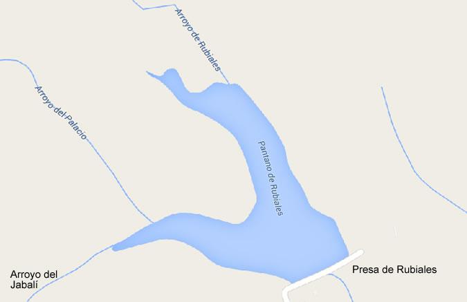 Embalse de Rubiales - Embalse de Los Valles - Embalse Valle de Matamoros -Pantano de Rubiales - Pantano de los Valles - Pantano Valle de Matamoros - Presa de Rubiales