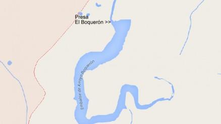 Presa El Boquerón - Embalse El Boquerón - Pantano - Riolobos