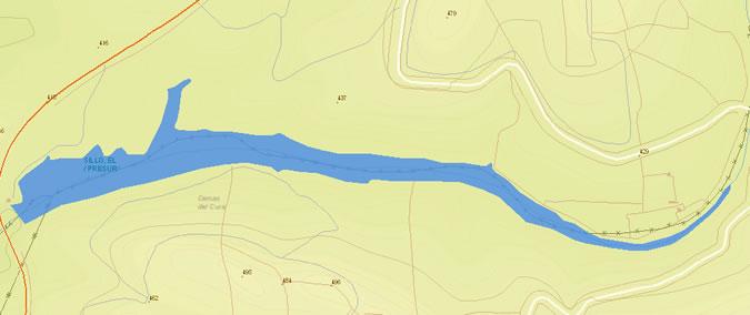 El Sillo Dam - El Sillo Reservoir