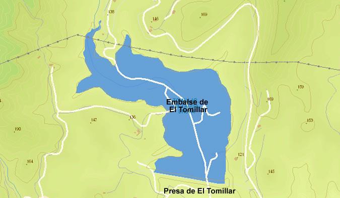 Presa del Embalse de El Tomillar - Agua Bruta - Málaga