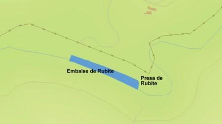 Presa de Rubite - Embalse de Rubite - Rubite Dam