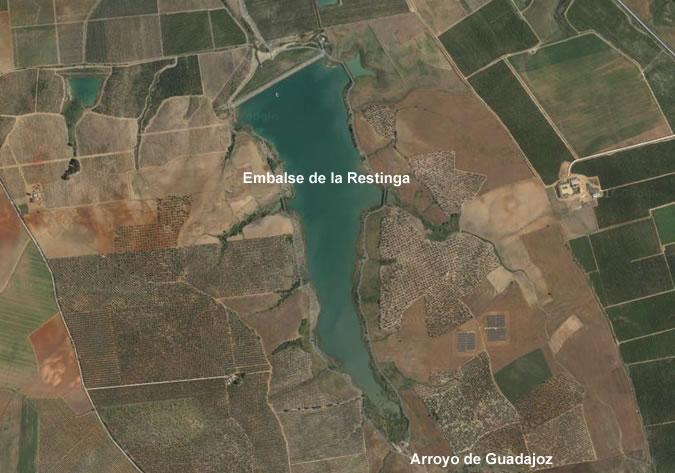 Presa de la Restinga - Embalse de la Restinga - Pantano de la Restinga - Balsa de la Restinga - Carmona