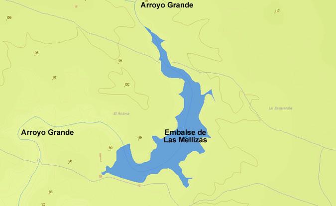 Presa de las Mellizas - Embalse de las Mellizas - Pantano de las Mellizas - Villablanca - Huelva