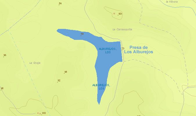 Presa de los Alburejos - Embalse de los Alburejos - Pantano de los Alburejos - Medina Sidonia