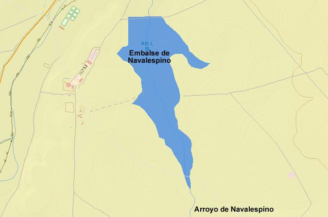 Presa de Navalespino - Embalse El Río I - Embalse de Navalespino - Pantano de Navalespino