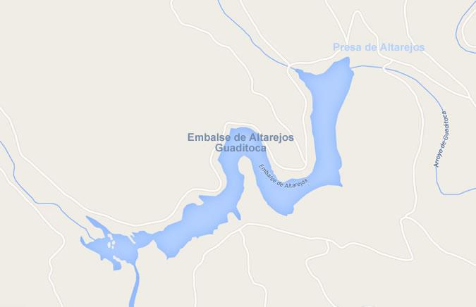 Presa de Altarejos - Embalse de Altarejos - Pantano de Altarejos - Embalse de Guaditoca - Presa de Guaditoca