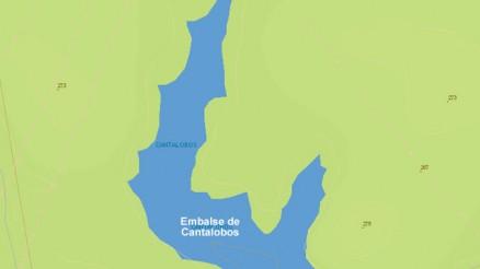 Presa de Cantalobos - Embalse de Cantalobos - Pantano de Cantalobos - Dam - Guillena - Sevilla