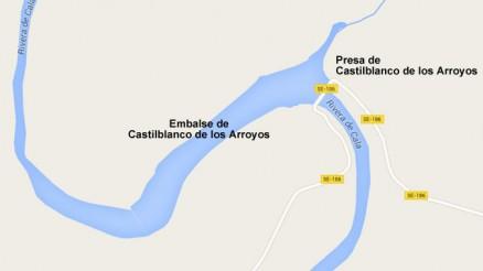 Presa de Castilblanco de los Arroyos - Embalse de Castilblanco de los Arroyos - Pantano - Guillena