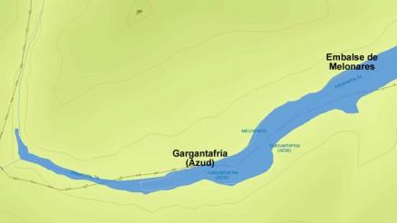 Presa de Gargantafría - Embalse de la Gargantafría - Azud - Dique de Cola - Pantano de Gargantafría - Dam