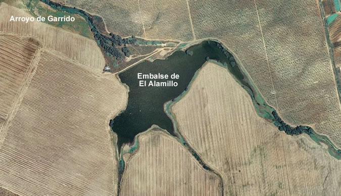 Presa del Embalse El Alamillo - Embalse del Alamillo - Ecija - Dam - Presa del Alamillo - Embalse El Alamillo