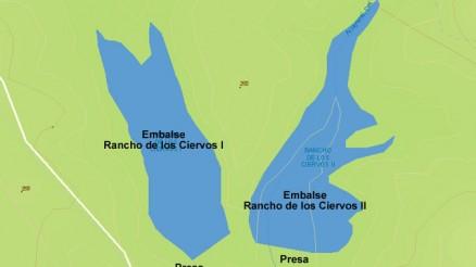 Embalse Rancho de los Ciervos I - Presa Rancho de los Ciervos I - Pantano Rancho de los Ciervos I - Posadas - Dam