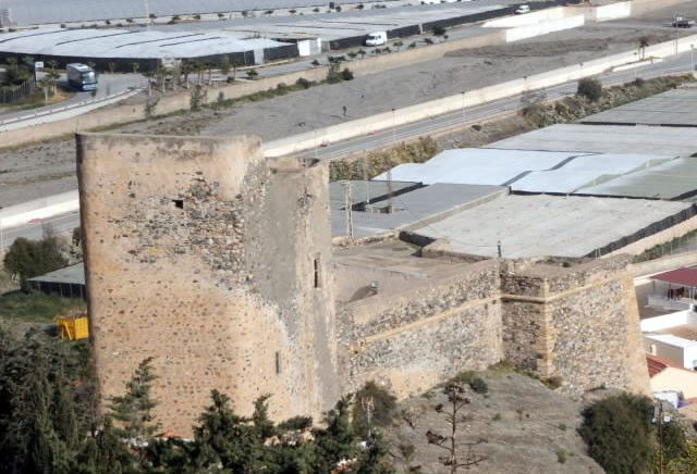 Castillo de la Rábita - Fuerte de la Rábita - La Rabita Castle - Albuñol