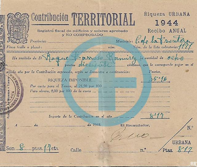 Documentos antiguos de Cortes de la Frontera
