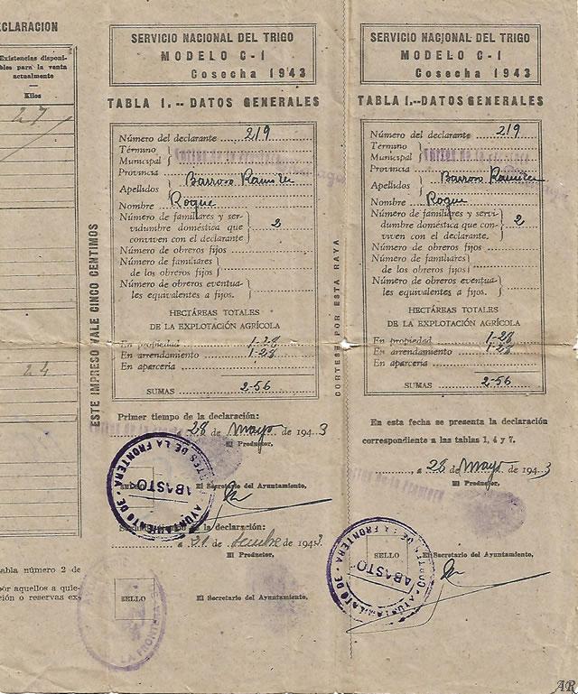 cortes-de-la-frontera-servicio-nacional-del-trigo-1943