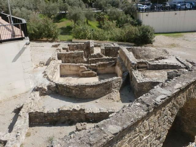 Thermal Complex, Roman Aqueduct and La Carrera Funerary Building