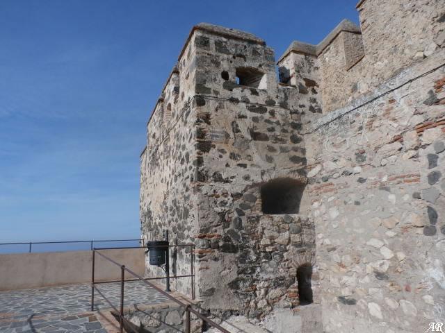 Castillo de Salobreña - Batería o Torreón del Baluarte