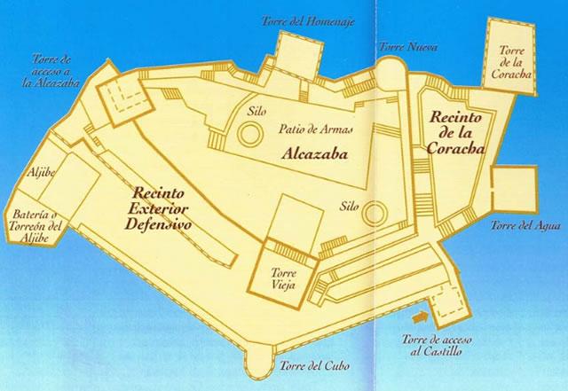 Castillo de Salobreña - Alcazaba de Salobreña