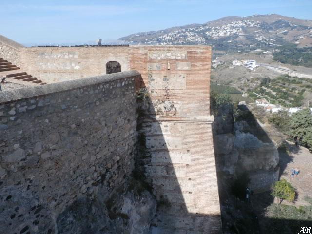 Torre de la Coracha del Castillo de Salobreña