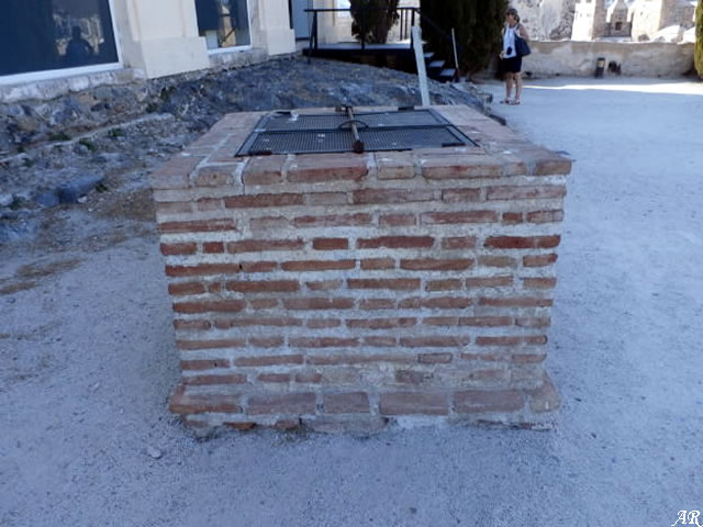Aljibe del Castillo de Almuñécar