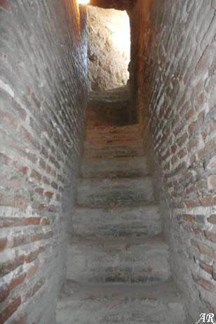 Escalera en la Torre de Levante
