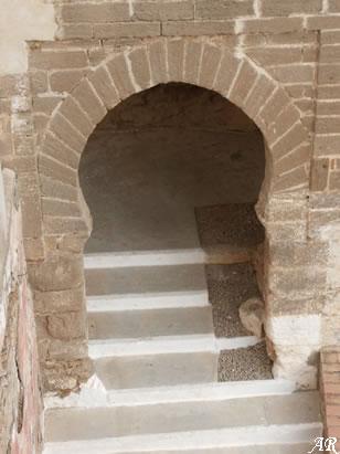 Arco de Ingreso del Castillo de Álora