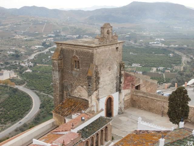 Alora Castle - Cerro de las Torres Church