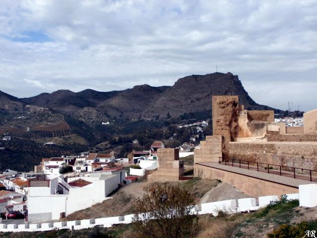 Castillo de Álora - Recinto del Castillo de Álora