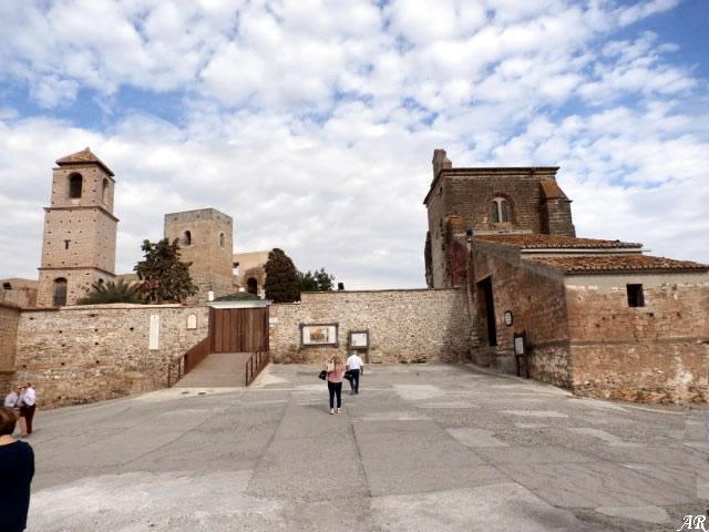 Castillo de Álora - Torres del Castillo - Castillo Árabe de Álora
