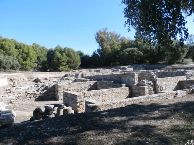 Enclave Arqueológico Carteia - San Roque - Yacimiento Arqueológico de Carteia - Edificio Termal