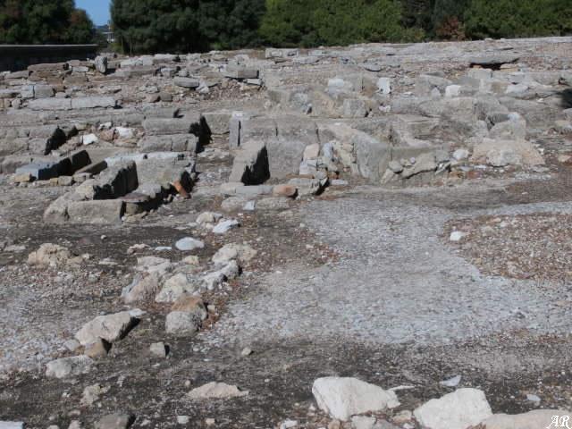 necrópolis tardorromana de Carteia