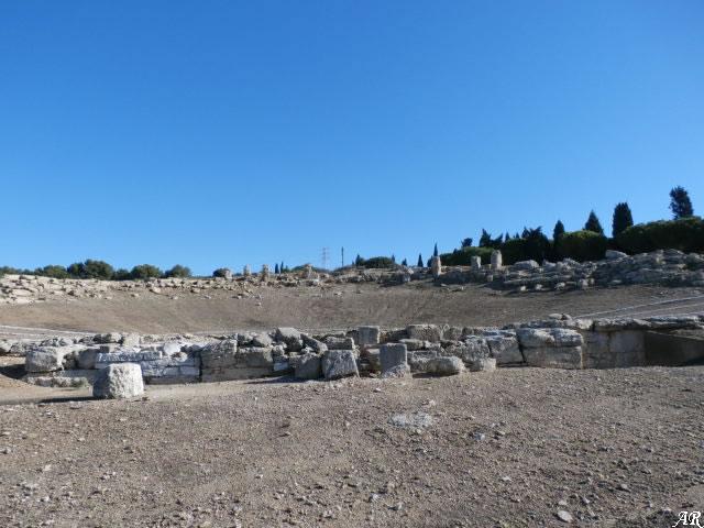 Enclave Arqueológico Carteia - San Roque - Yacimiento Arqueológico de Carteia - Teatro Romano
