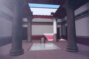 Enclave Arqueológico Carteia - Vivienda Romana