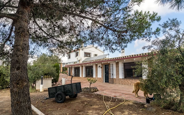 Finca con Dos Casas en Álora - Farm with two Houses in Álora