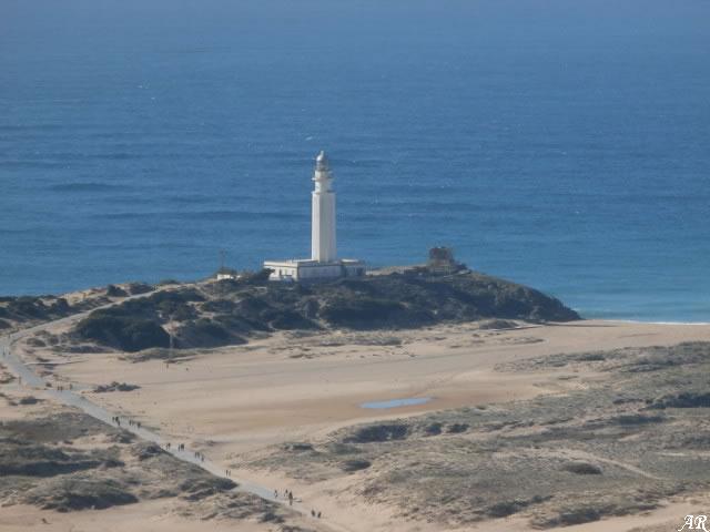 Monumento Natural Tómbolo de Trafalgar - Faro de Trafalgar y Torre de Trafalgar