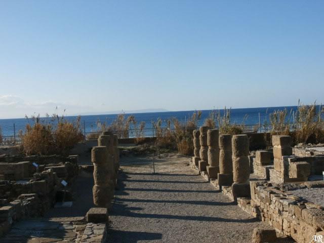 Conjunto Arqueológico de Baelo Claudia - Cardo de las Columnas