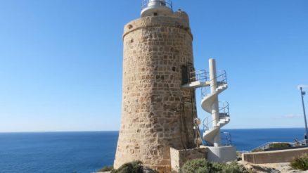 Torre de Cabo de Gracia o Torre Vieja - Faro Camarinal - Tarifa