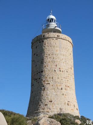 Torre de Cabo de Gracia, Torre de Aguas de Enmedio, Torre Graciosa, Torre del Ancón de Bolonia, Torre del Cabo de Enmedio, Torre Vieja, Faro de Camarinal, Torre del Cabo de Bolonia, Tarifa