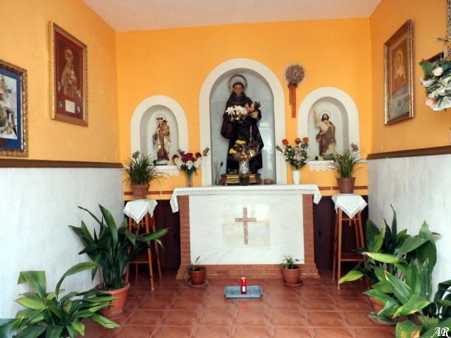 Capilla de San Antonio de Padua - Patrón de Benamahoma - El Castillito