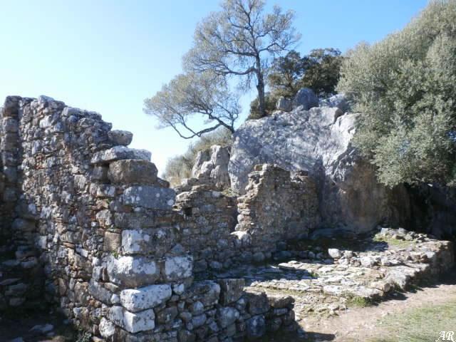 Casa de Juan Vegazo en la Ciudad Romana de Ocuri