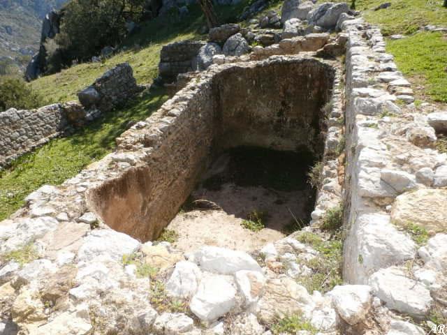 Cisterna nº 2 - Ciudad Romana de Ocuri