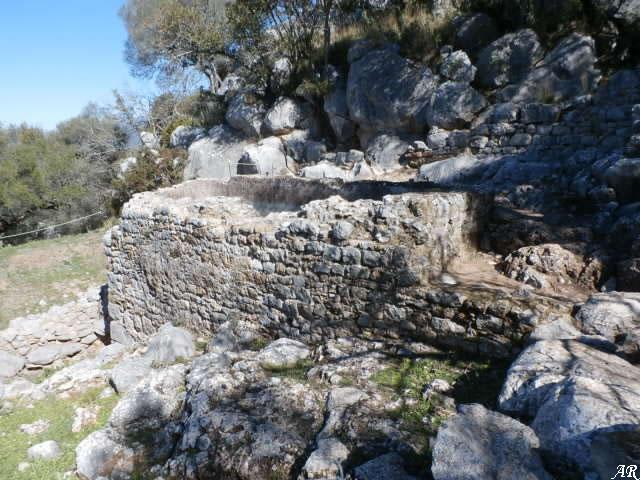 Cisterna nº 1 en la Ciudad Romana de Ocuri