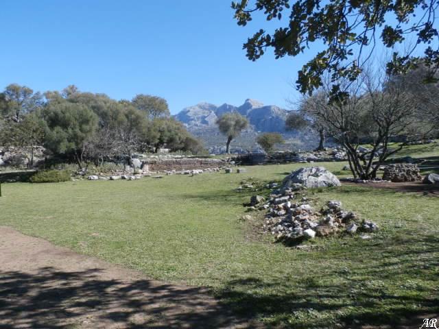 El Foro de la Ciudad Romana de Ocuri - Yacimiento Arqueológico de Ocuri - Ubrique