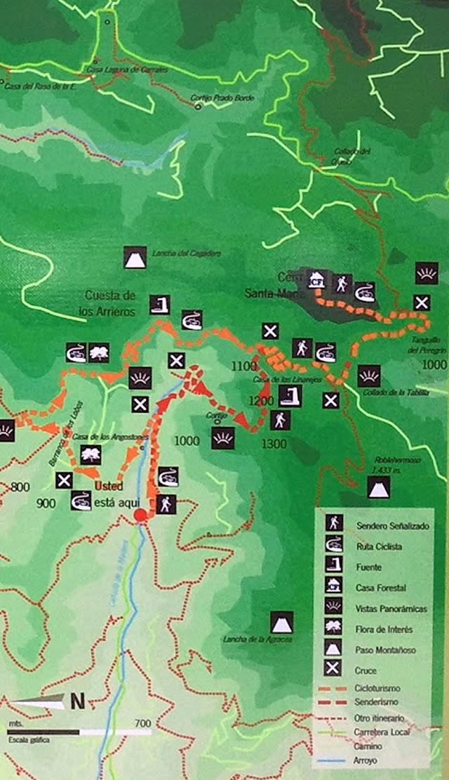Sendero - Ruta Cicloturista Jesús del Monte - Iznatoraf